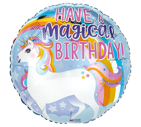 Balloon - Happy Birthday Unicorn
