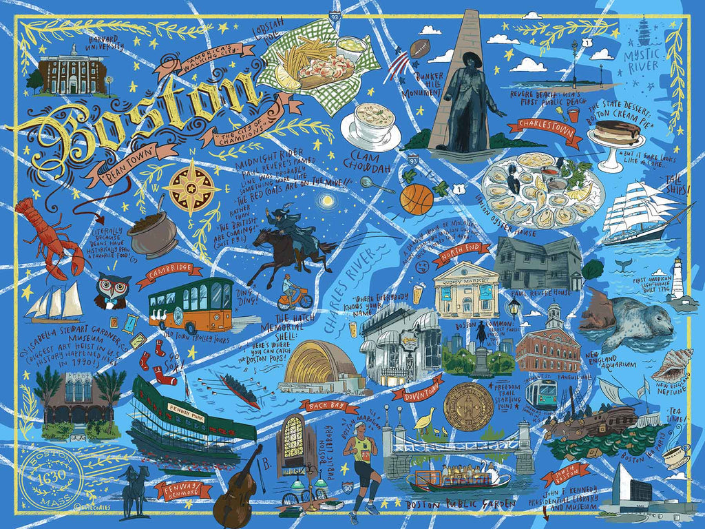 Boston (500 pc puzzle)