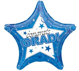 Balloon - Congrats Grad Star