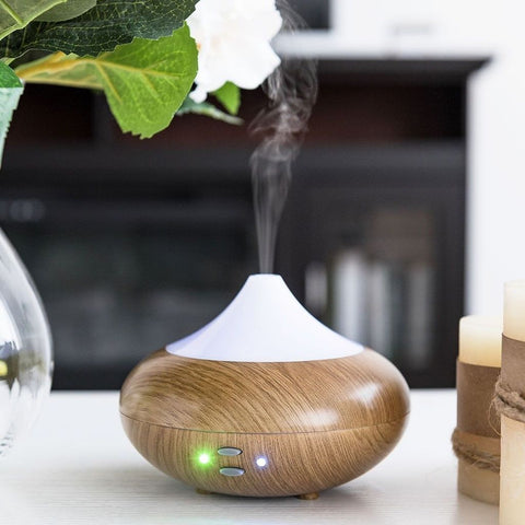 Wood pattern  Ultrasonic Aroma Diffuser - Groupy Buy