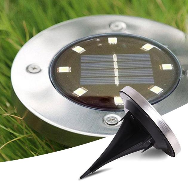 Outdoor LED Solar Garden Ground Lights - Groupy Buy