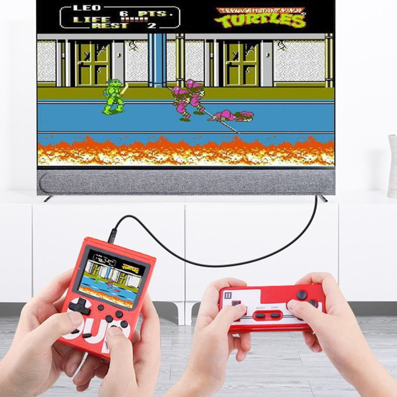 400 Games Wireless Handheld Console Childhood Game Console