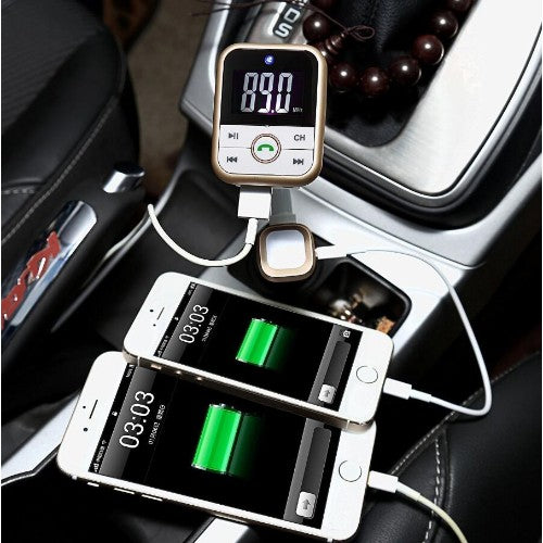4 in 1 Bluetooth Car FM Transmitter