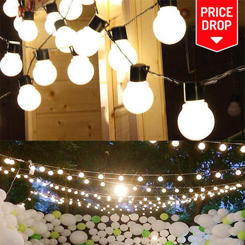 10 LED Solar String Lights