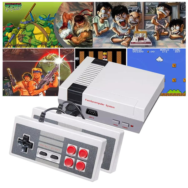 Mini Retro Game Console with Hundreds of Games