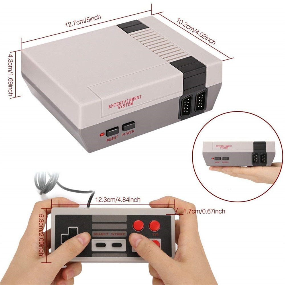 Mini Retro Game Console with Hundreds of Games_5