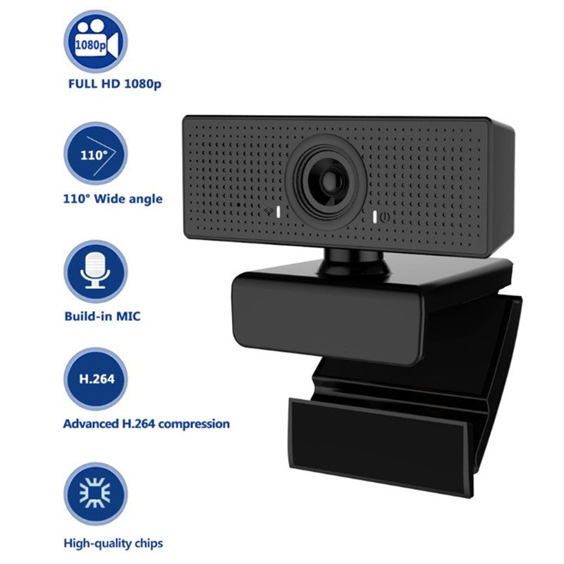 C60 HD 1080P Webcam with Built-in Microphone_3