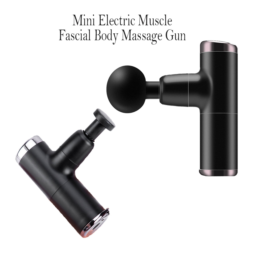 Mini Electric Massage Gun Deep Muscle Fascial Body Massager Gun Tissue Percussion Small Fitness Equipment Acid Relief Pain Relax_10