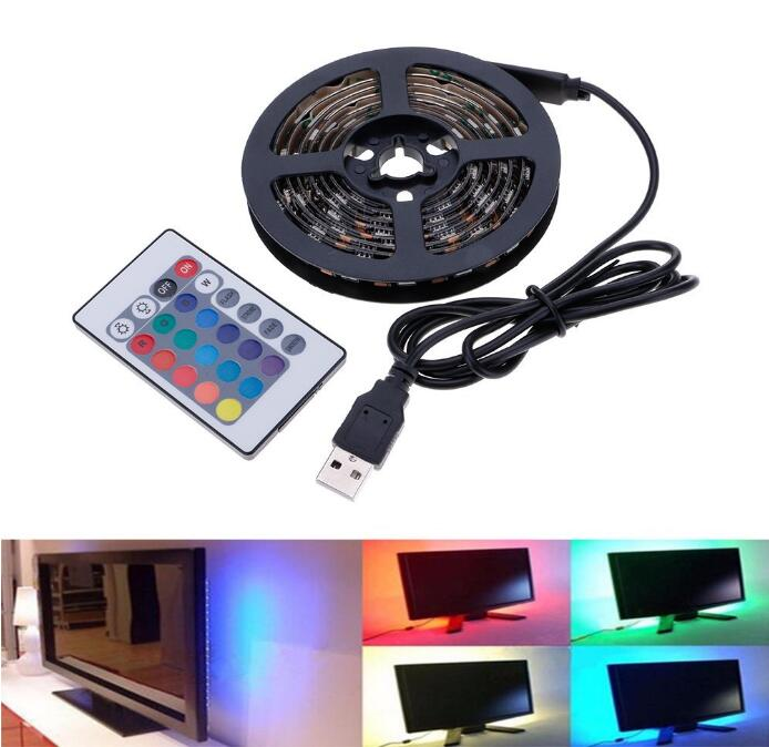 USB Powered Colour-Changing TV Backlight with Remote