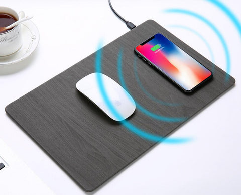 10W Fast Charge Wireless Mousepad Charger