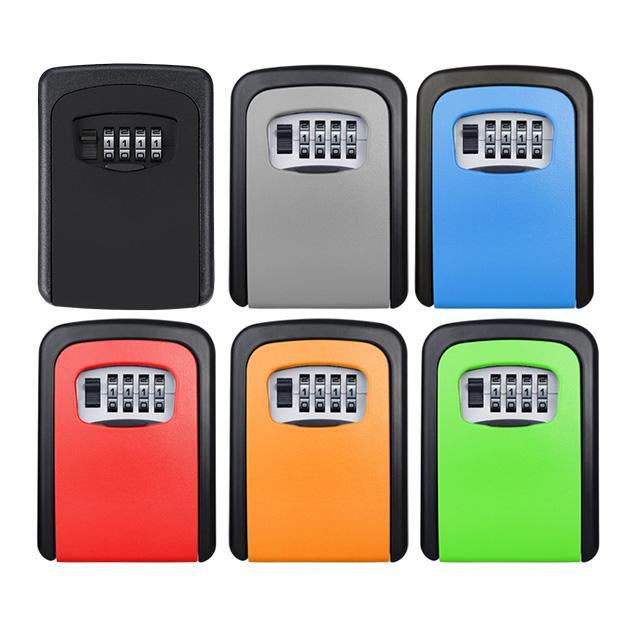 Multicolour Key Safe Combination Lock Boxes - Groupy Buy