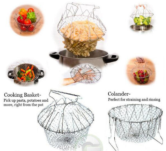 Stainless Steel Cooking Basket