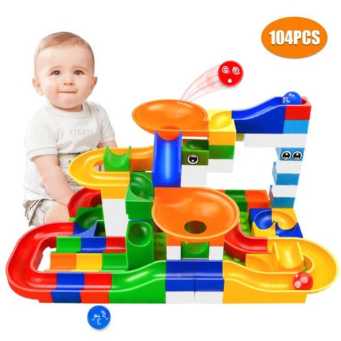 104pcs Toy Building Blocks Set