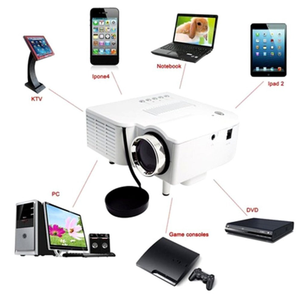 Portable Mini LCD Digital Projector