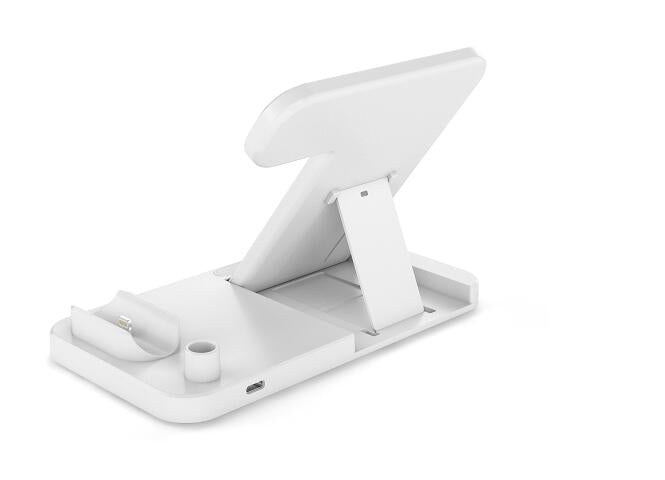 4-In-1 Wireless Charging Dock for Qi-Enabled Devices