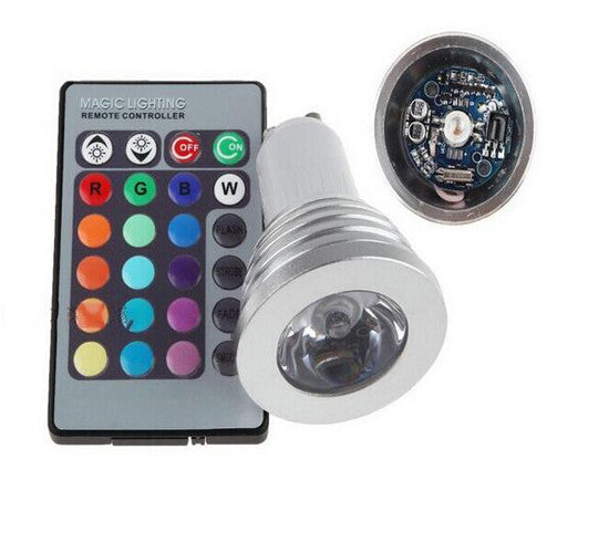 Magic Light Color-Changing LED Light Bulbs