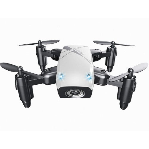 HD S9 Foldable RC Pocket Drone with camera optional