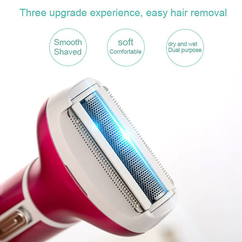 Four-in-One Women Electric Shaver Sets