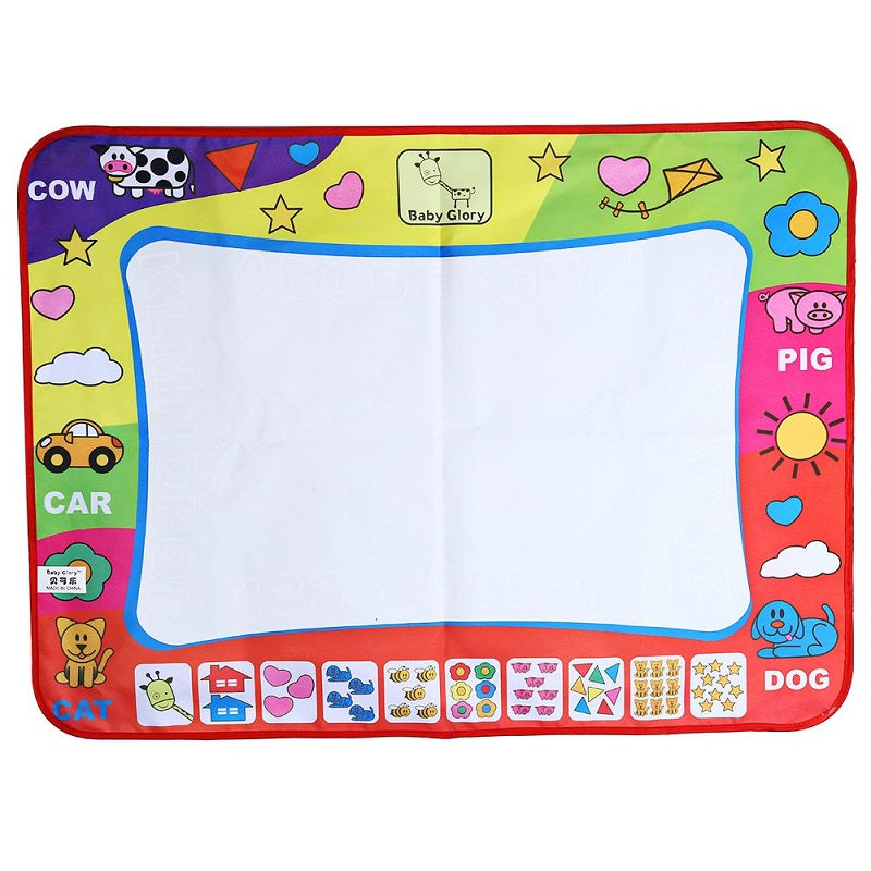 80X60 Extra Large Kid's Magic Doodle Mat and Water Pen Set