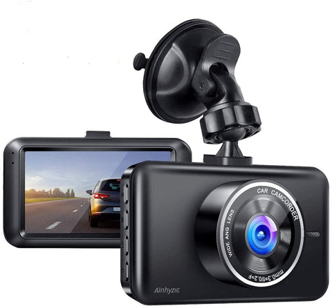 1080P Full HD Car Driving Recorder 3-Inch LCD Screen with Super Night Vision