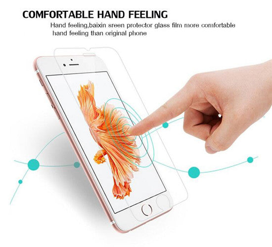 Tempered Glass Cover for iPhone