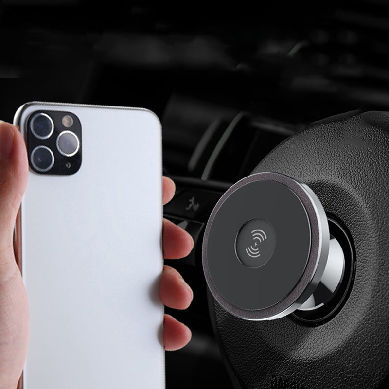 10W Dual-Purpose Wireless Charging Phone Holder Mount