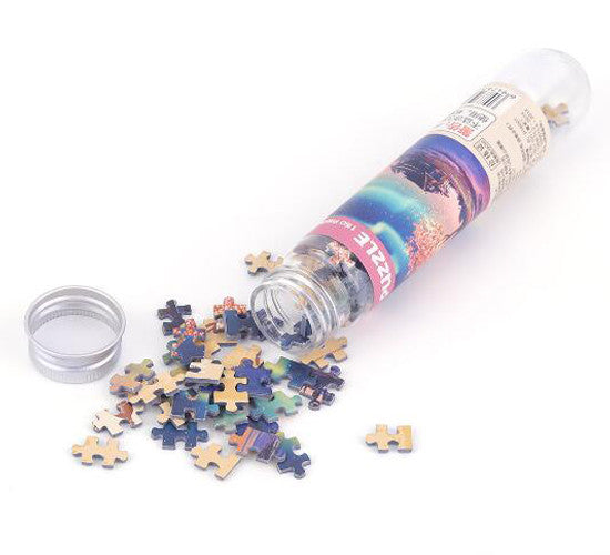150 Piece Mini Art Puzzles with Tube