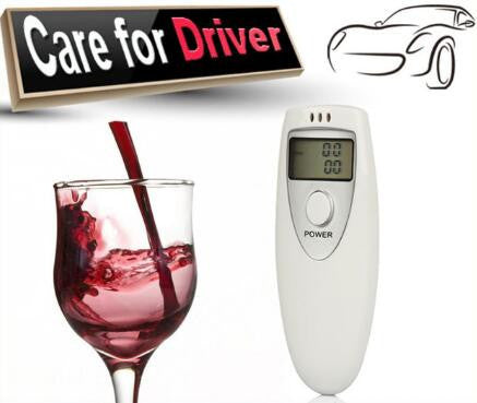 Pocket Alcohol Breathalyser
