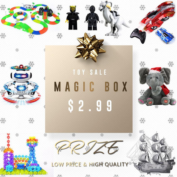 Groupybuy Mystery Toy Deal $2.99 -Magic Track Set,Water Drawing Book,Kids Learning Yphone,Retro Game Console...