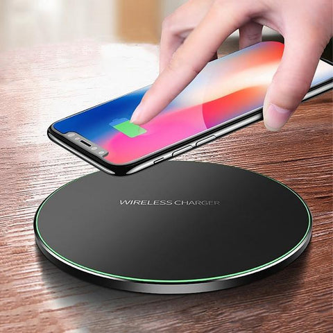 10 W Wireless iPhone & Samsung Smartphone Charger - Groupy Buy
