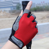 Outdoor Sport 3D Gel Silicone Padded Half Finger Gloves