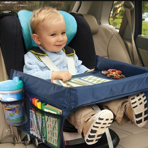 Child Car seat Tray Table