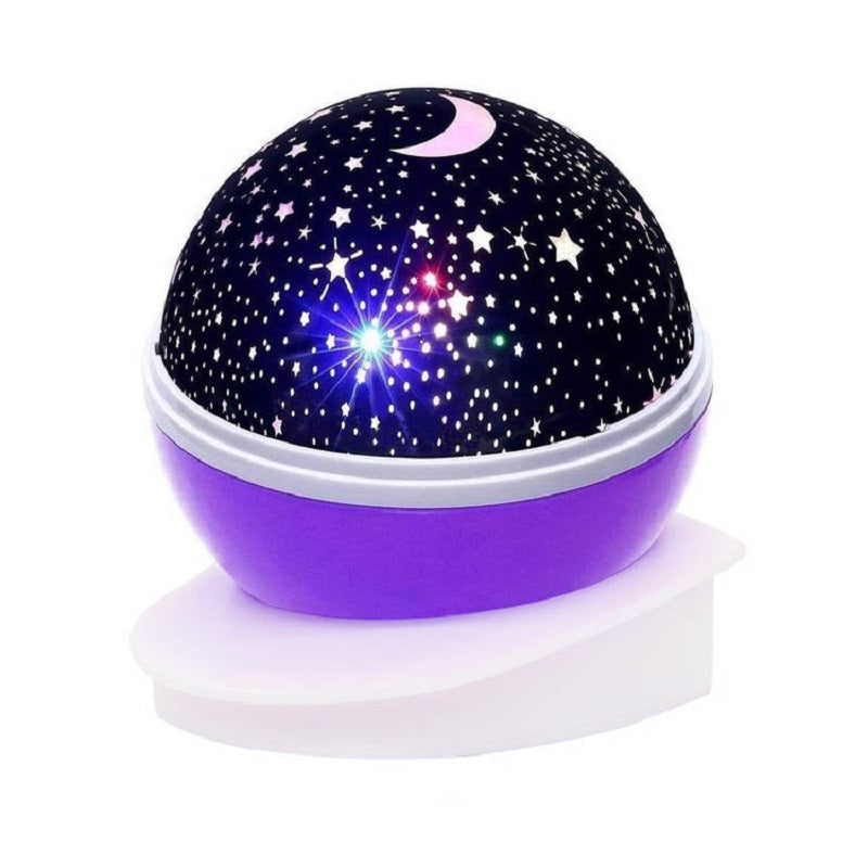 LED Rotating Night Light Projector