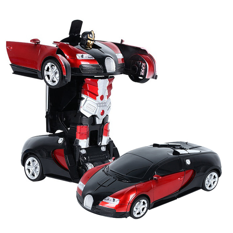 2-in-1 Remote control Sports Vehicle Model Robots Toys
