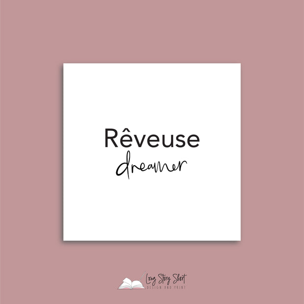 French Quote Vinyl Label Pack