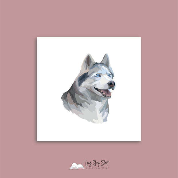 It's a Dog's Life (Siberian Husky) Vinyl Label Pack