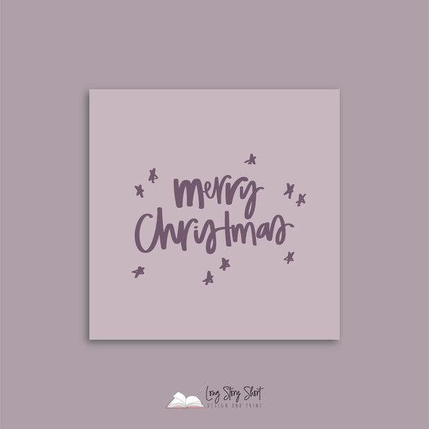 Berry Christmas Cheer Christmas Vinyl Label Pack