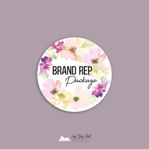 LSS030 Brand Rep Packaging Vinyl Label Pack