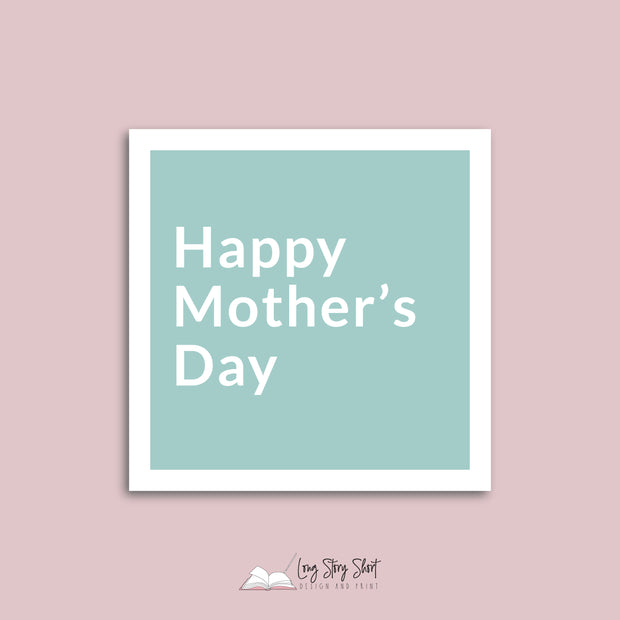 Pastel Mothers Day Vinyl Label Pack
