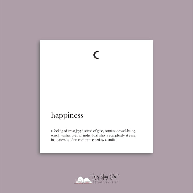 The Happiness Vinyl Label Pack