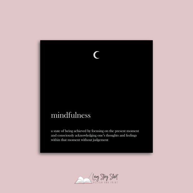 The Mindfulness Vinyl Label Pack
