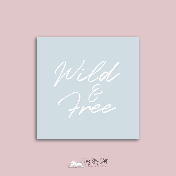 Wild & Free Vinyl Label Pack