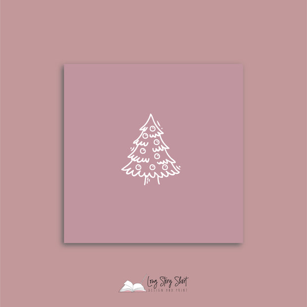 LSS276 Rocking Around the Christmas Tree Pink Vinyl Label Pack