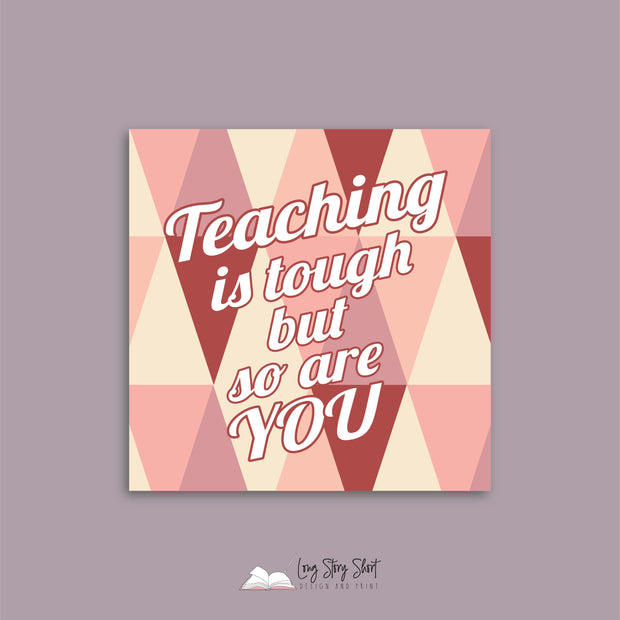 LSS293 Teacher Inspire Vinyl Label Pack