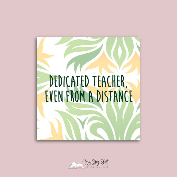 LSS297 Great Teacher Vinyl Label Pack