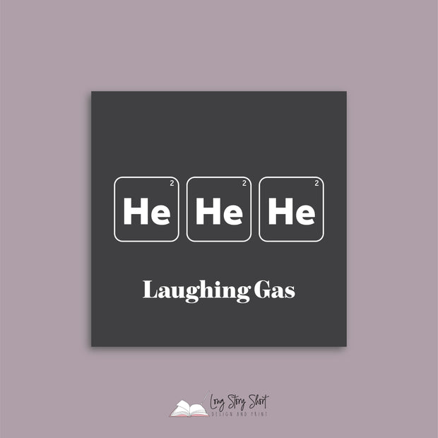 Laughing Gas Vinyl Label Pack