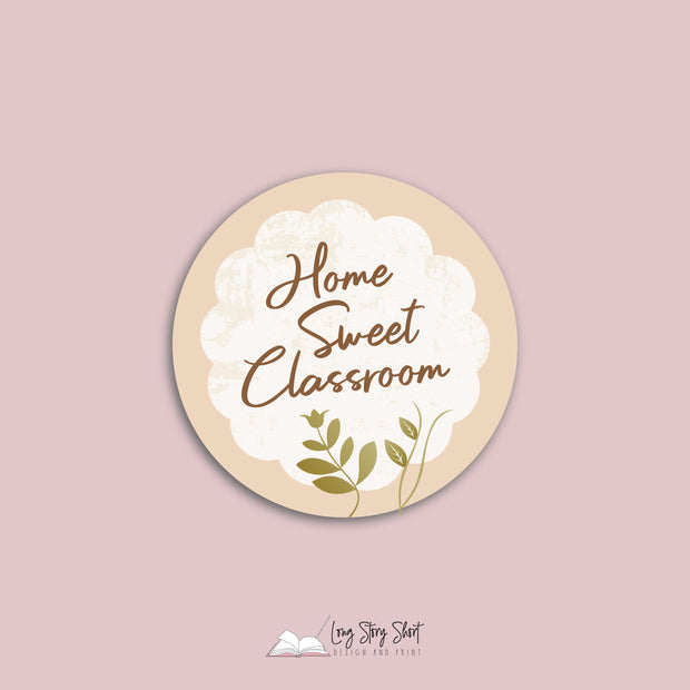 Home Sweet Classroom Vinyl Label Pack