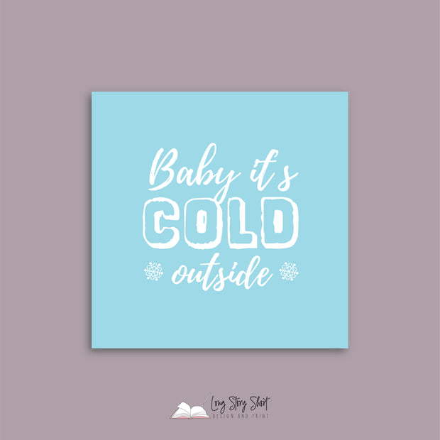 LSS310 Baby It's Cold outside Vinyl Label Pack