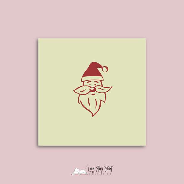 Santa is coming to town Vinyl Label Pack