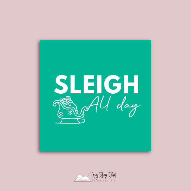 LSS320 Sleigh All Day Vinyl Label Pack